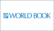 World Book logo - a leading publisher of resources and digital learning platforms