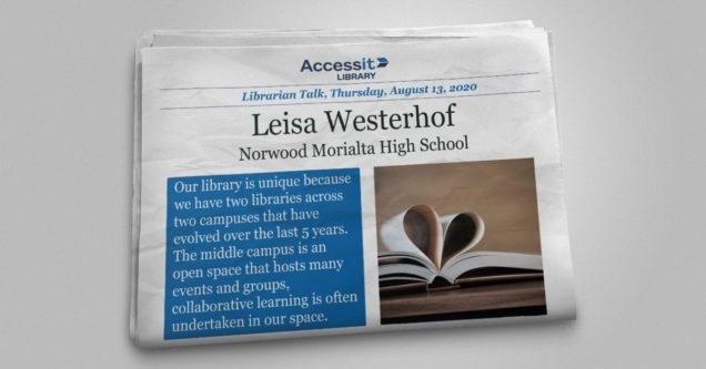 Leisa Westerhof library management system user