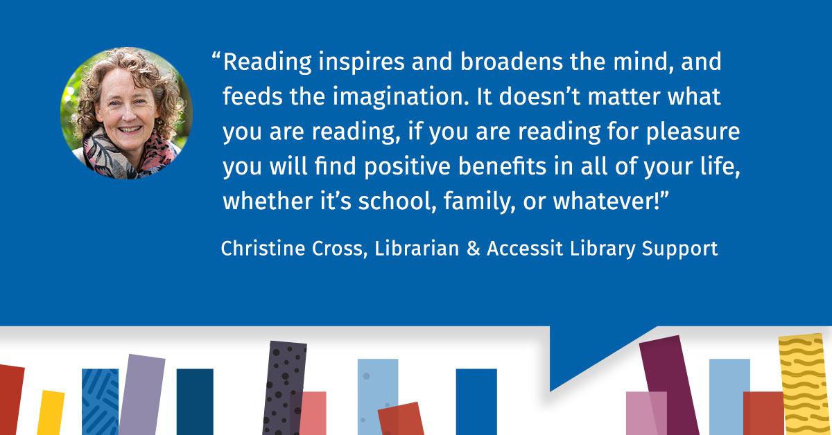 Accessit Interviews - Accessit Library Team Talk Christine