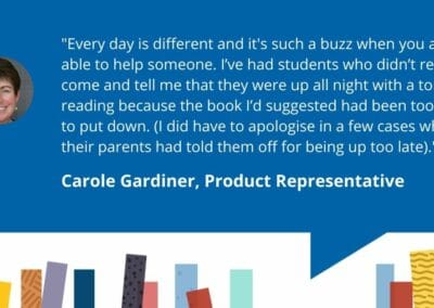 Librarians of Accessit – Carole Gardiner – Sales Representative