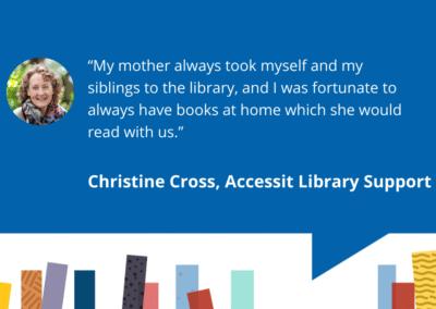Accessit Team Talk – Christine – Accessit Library Support