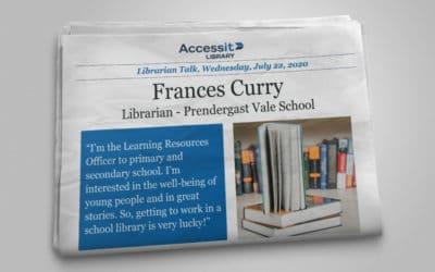 Librarian Talk – Frances Currie – Prendergast Vale School