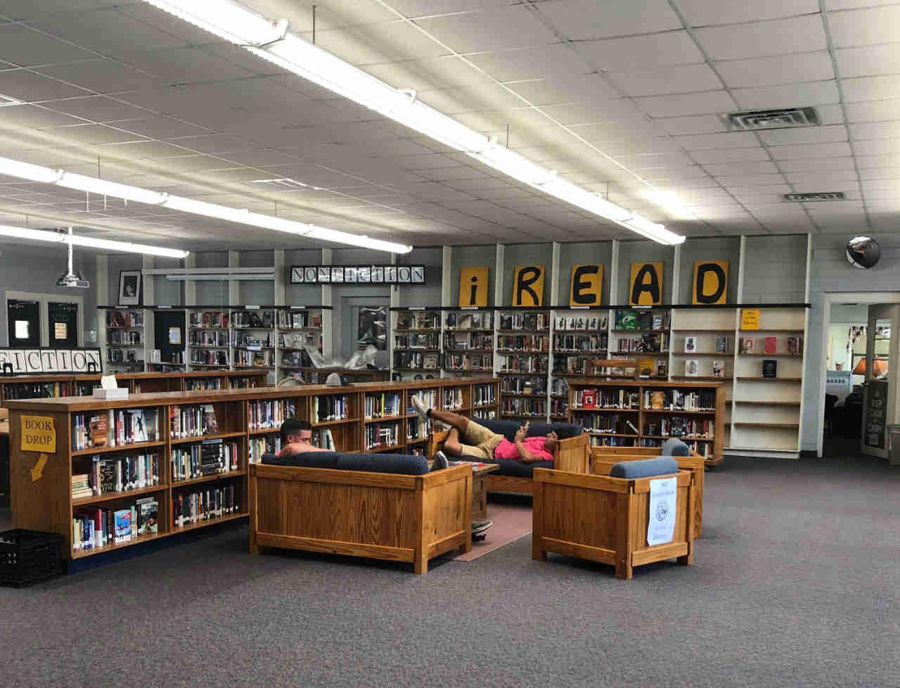 Fuqua school library
