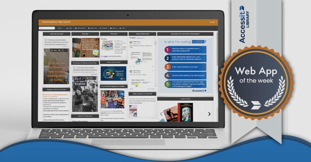 Web App of the Week – Great Baddow High School