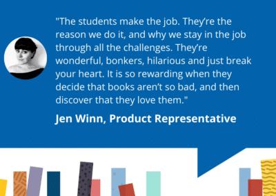 Librarians of Accessit – Jen – Product Representative