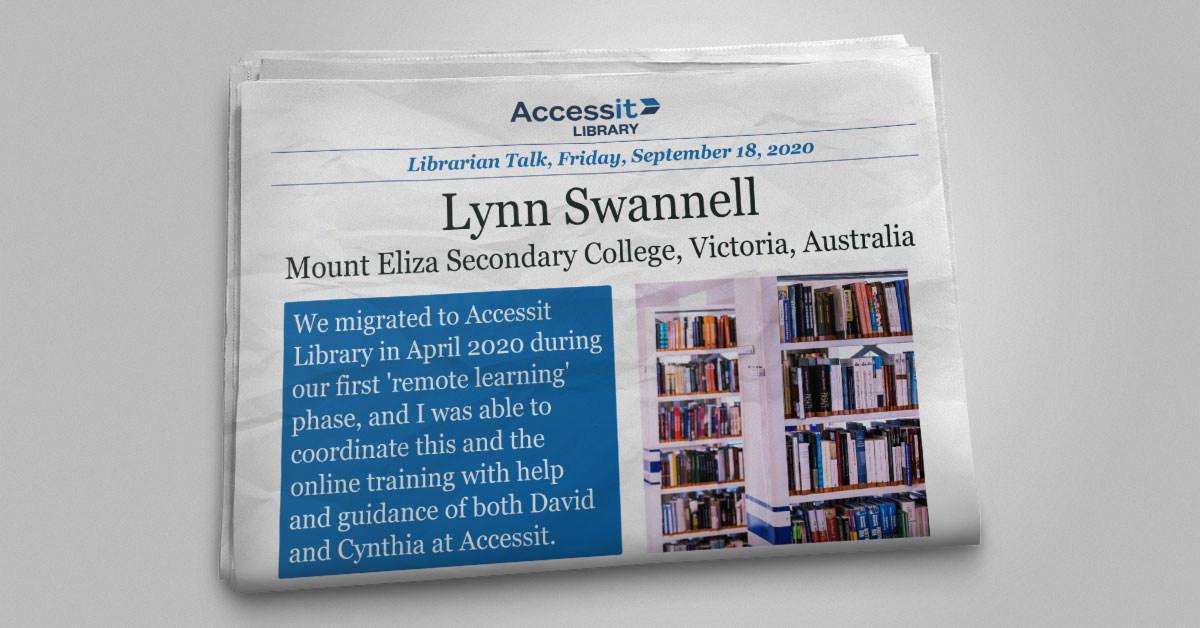 Lynn Swannell Mount Eliza Secondary College