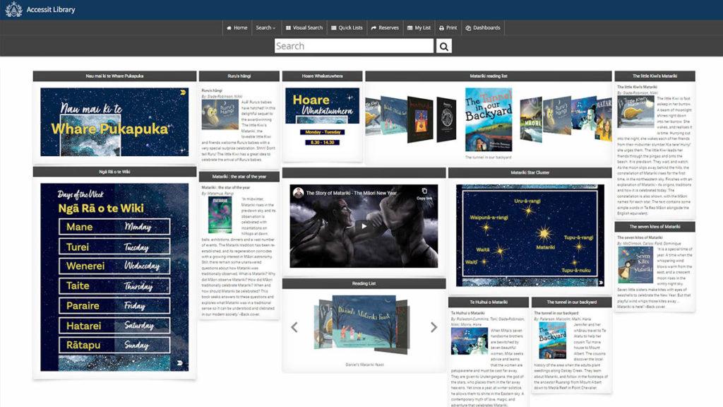 Matariki Web App