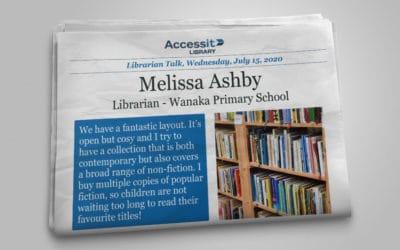 Librarian Talk – Melissa Ashby – Wanaka Primary School