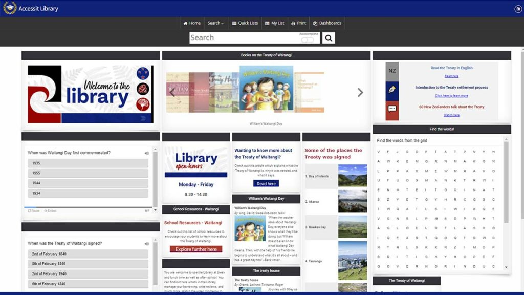 Waitangi dashboard preview - Web App of the Week