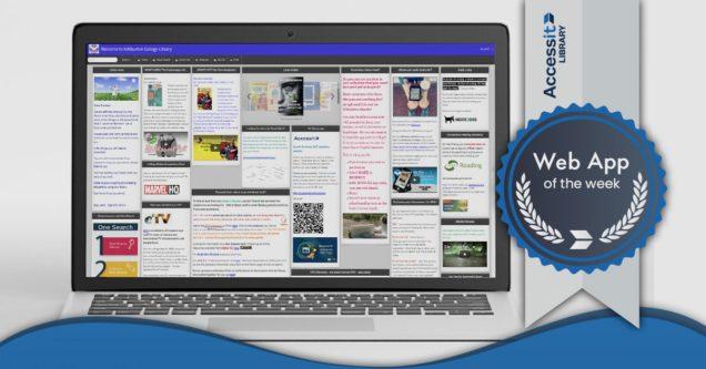 Ashburton College school library software web interface
