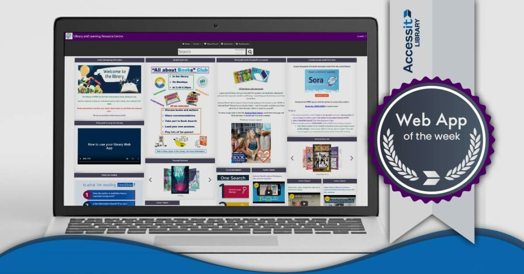 Web App of the Week: Denefield School