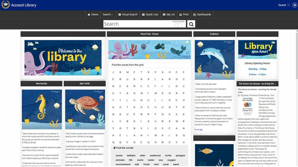 Web App of the Week - Environment and Oceans