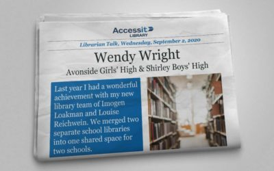 Librarian Talk – Wendy Wright – Avonside Girls' High & Shirley Boys' High
